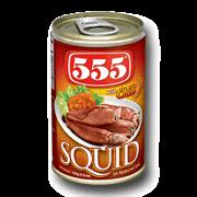 555 Squid Chili 155g