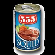555 Squid Natural 155g