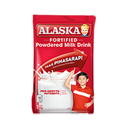 Alaska Fortified Powdered Milk Drink 330g