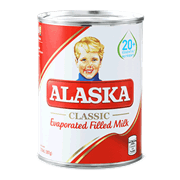 Alaska Evaporada Full Milk 370ml