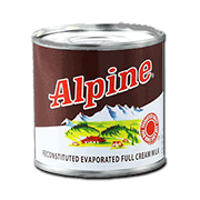 Alpine Evaporated Milk 154ml