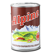 Alpine Evaporated Milk 370ml