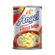 Angel Evaporated Filled Milk 410ml