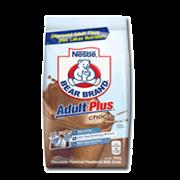Bear Brand Adult Plus Choco 180g