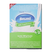 bonamil powder 6 to 12mos 180g