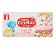 Cerelac Infant Cereals Brown Rice And Milk 120g