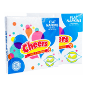 Cheers Flat Table Napkin 100s