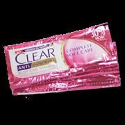 Clear Shampoo Anti Dandruff Complete Soft Care 13ml 12s