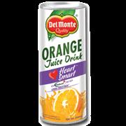 Del Monte Orange Juice Drink Heart Smart Can 240ml