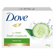 Dove Fresh Moisture Beauty Bar 100g