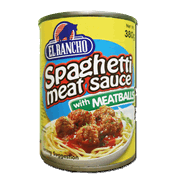 El Rancho Spaghetti Meat Sauce With Meatballs 380g