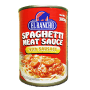 El Rancho Spaghetti Meat Sauce With Sausage 380g
