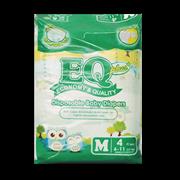 EQ Plus Disposable Diapers Medium 4s