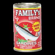 Family Sardines Bonus Pack Chili Added 155g