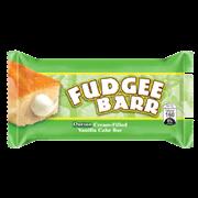 Fudgee Bar Durian Cream Filled Vanilla Cake Bar 10s