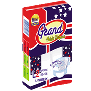 Grand Adult Diaper Large 2s