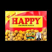 Happy Peanuts Bbq Flavor 20s