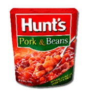 Hunts Pork And Beans 100g
