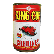 King Cup Sardines Red 155g