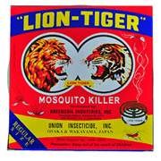 Lion Tiger Mosquito Killer Coil Regular Size
