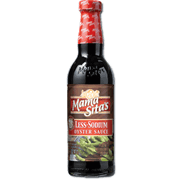 Mama Sitas Oyster Sauce Less Sodium 405g