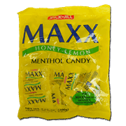 Maxx Honey Lemon Methol Candy 50s
