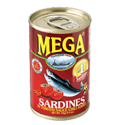 Mega Sardines Chili Added 155g