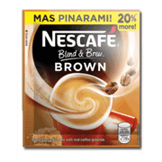 Nescafe Blend And Brew Brown 28.5g