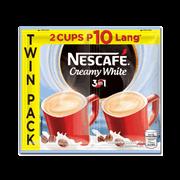 Nescafe Creamy White 52g Twin Pack