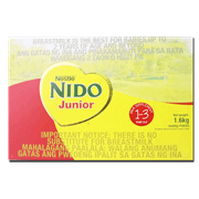 nido junior 4by400g 1.6kg