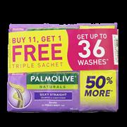 Palmolive Shampoo Silky Straight 15ml 12s