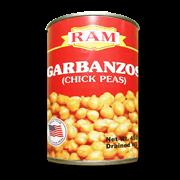 Ram Garbanzos Chick Peas 450g