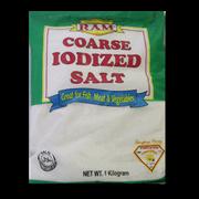 ram iodized salt coarse 1kl