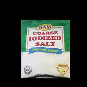 ram iodized salt coarse 250g