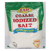 Ram Iodized Salt Coarse C 500g