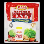 Ram Iodized Salt Refined R 500g