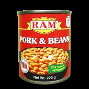 Ram Pork And Beans 220g