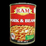 Ram Pork And Beans 390g