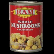 Ram Whole Mushroom 400g