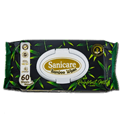 Sanicare Bamboo Wipes 60s