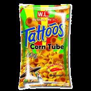 Tattoos Corn Tube Sp Cheese 10g