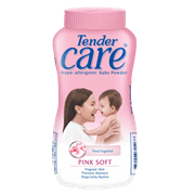 Tender Care Pink Soft Baby Powder 100g