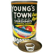 Youngs Town Sardines Green Eoc 155g