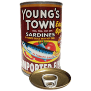 Youngs Town Sardines Red Eoc 155g