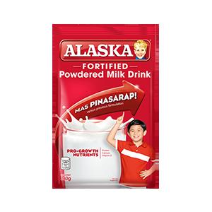 Alaska Fortified Powdered Milk Drink 330g