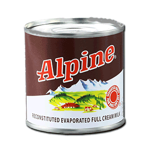 Alpine Evaporated Milk 154ml
