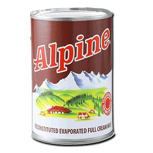 Alpine Evaporated Milk 370ml