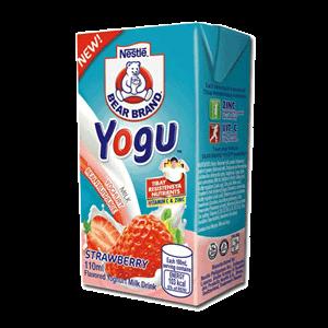 Bear Brand Yogu Strawberry 110ml