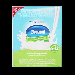 Bonamil 6 To 12months 400g