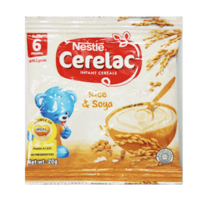 Cerelac Infant Cereals Rice And Soya 20g